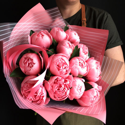 Роскошные итальянские Пионы: букеты цветов на заказ Flowwow