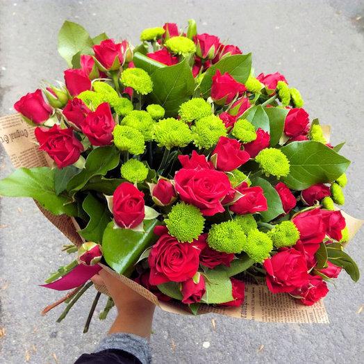 Мужской (Букет 52): букеты цветов на заказ Flowwow