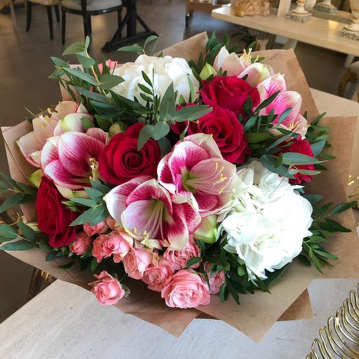 Амариллис : букеты цветов на заказ Flowwow
