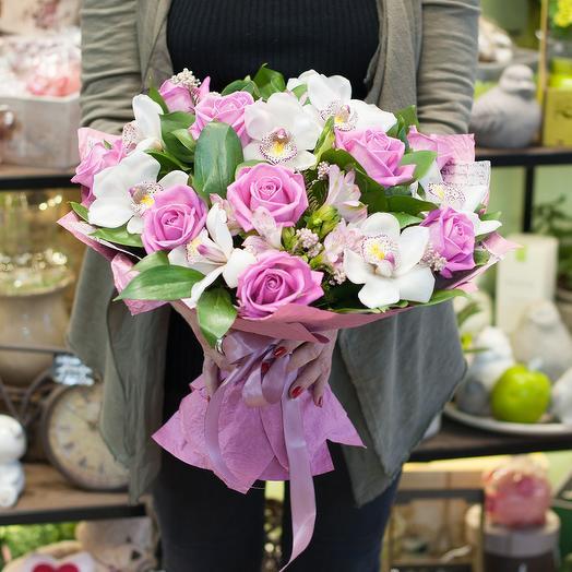 """Букет цветов """"Высокие чувства"""""""