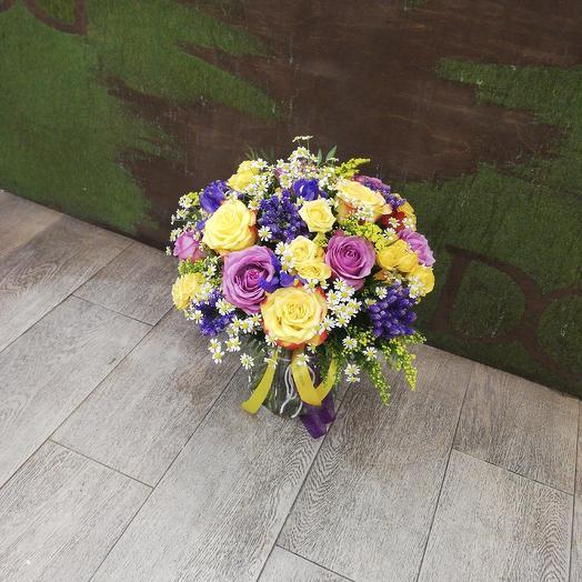 Букет4: букеты цветов на заказ Flowwow