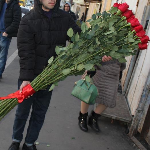 25 высокая роза 150см