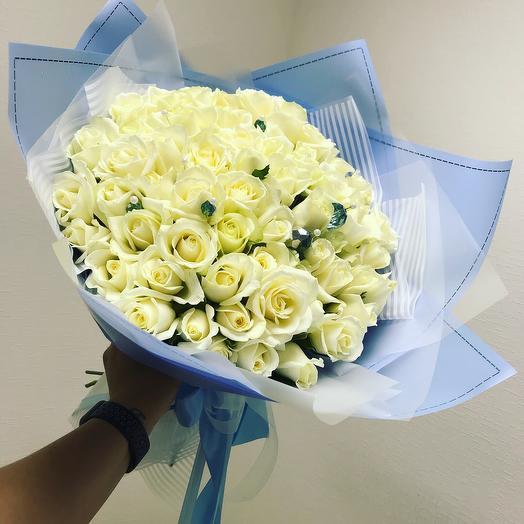 Лазурный берег: букеты цветов на заказ Flowwow