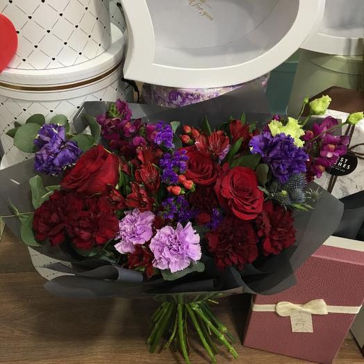 Восточные сказки S: букеты цветов на заказ Flowwow