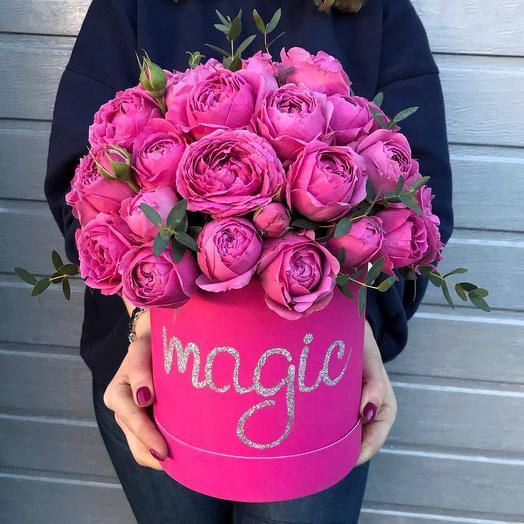 Ваша любимая пионовидная: букеты цветов на заказ Flowwow