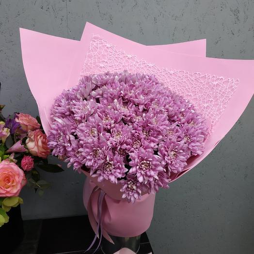 Розовый пудинг: букеты цветов на заказ Flowwow