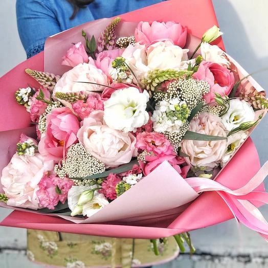 Букет «Элизабет»: букеты цветов на заказ Flowwow