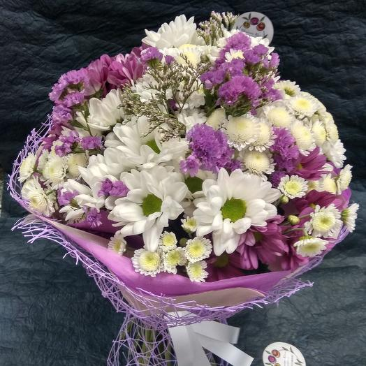 Сиреневый этюд: букеты цветов на заказ Flowwow