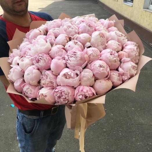 Сара пион: букеты цветов на заказ Flowwow