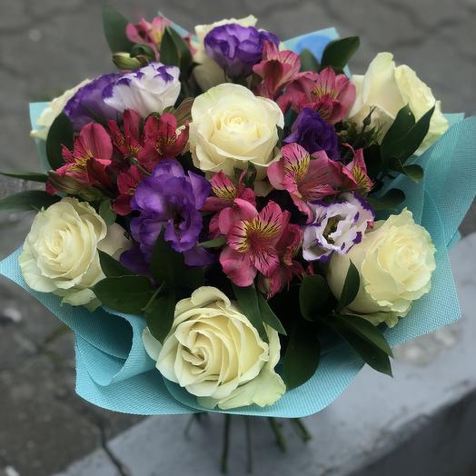Ароматный букет: букеты цветов на заказ Flowwow