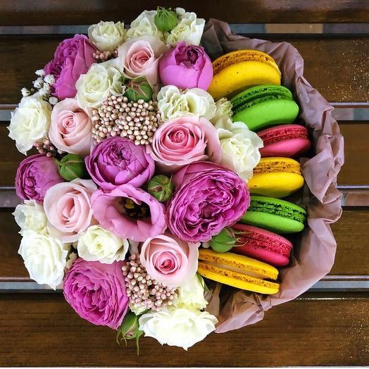 Цветы со сладостями