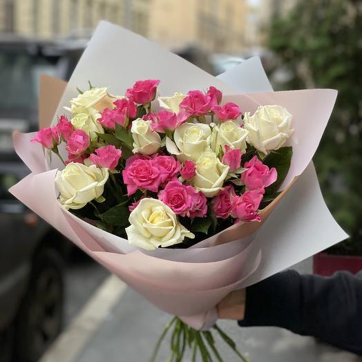 Кокетка: букеты цветов на заказ Flowwow