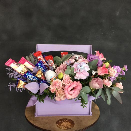Сладкий рай: букеты цветов на заказ Flowwow