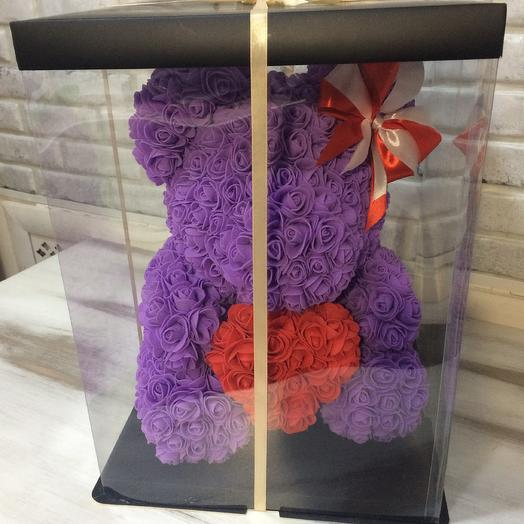 Мишка подарочный: букеты цветов на заказ Flowwow