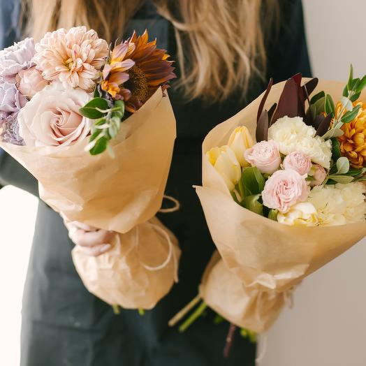 Банчи: букеты цветов на заказ Flowwow