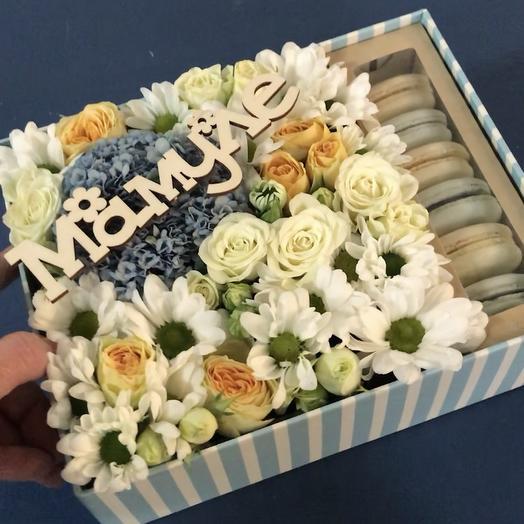 Сладости для мамочки: букеты цветов на заказ Flowwow