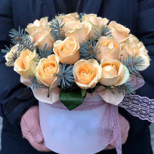 Роза не боиться мороза: букеты цветов на заказ Flowwow