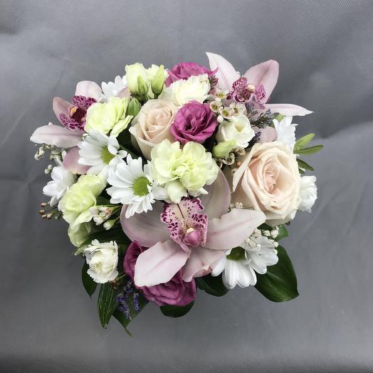 Композиция нежность дня: букеты цветов на заказ Flowwow