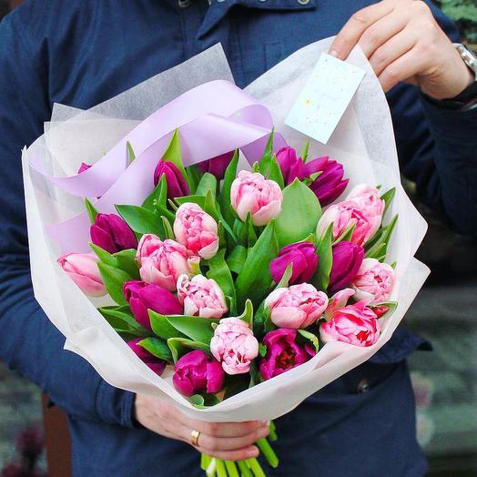 19 микс тюльпан