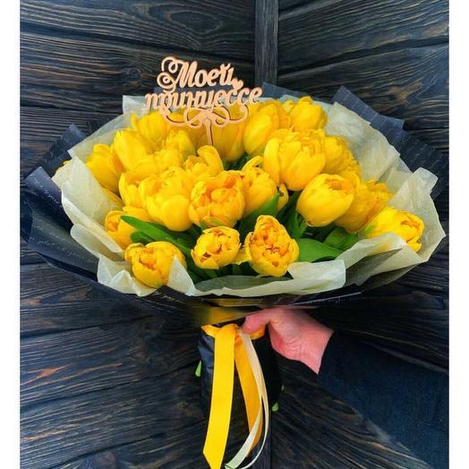 Моей принцессе: букеты цветов на заказ Flowwow
