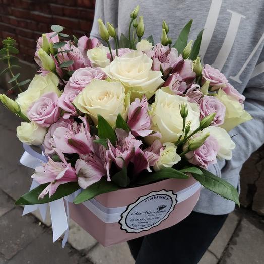 Сердце Медвежонка: букеты цветов на заказ Flowwow
