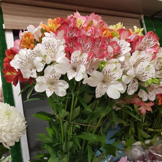 АЛЬСТРОМЕРИЯ в ассортименте: букеты цветов на заказ Flowwow