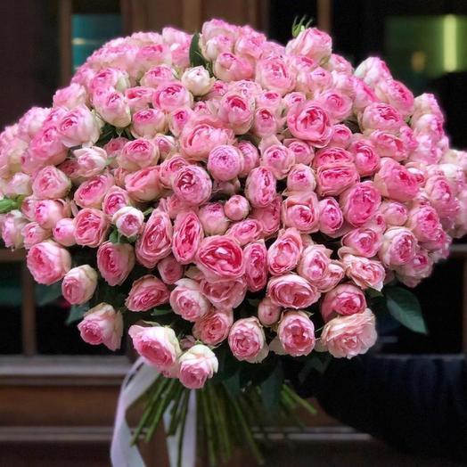 Букет цветов «Роскошный поцелуй»
