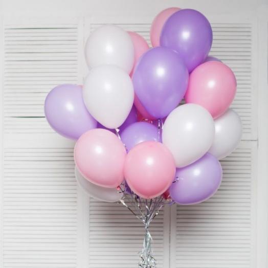 Сиренево-розовая гамма 20