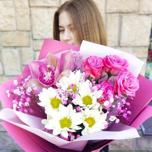 """Букет цветов """"Комплимент"""""""