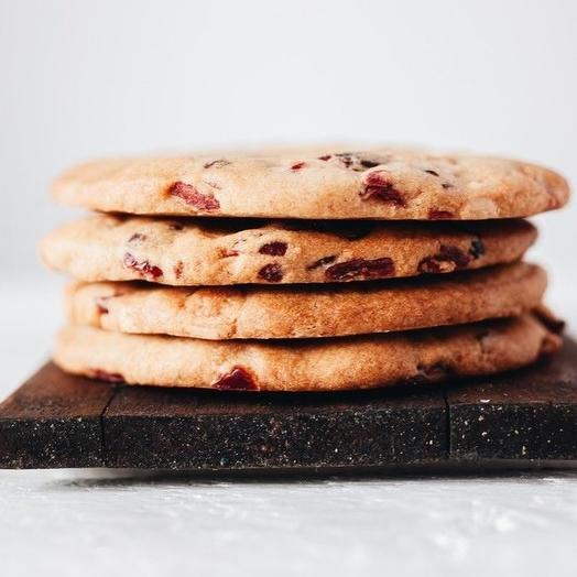 Печенье с белым шоколадом и клюквой  Sasha-Bread   200 гр
