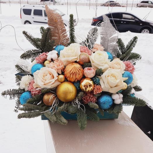 """Композиция """"Зимняя встреча"""""""