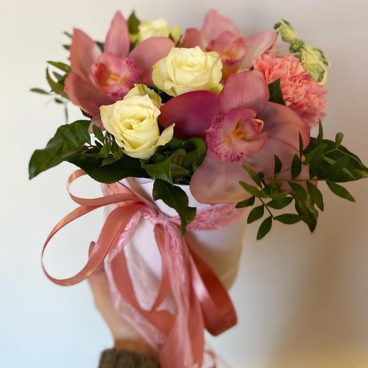 Коробочка с цветами Эйва