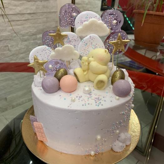 Торт Мишка в облоках