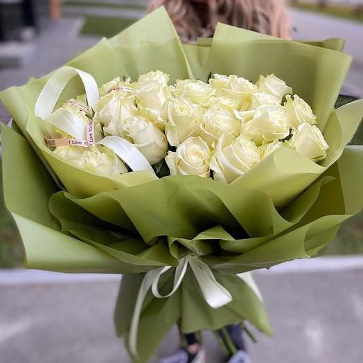 Букет «Роза мондиаль» 19шт