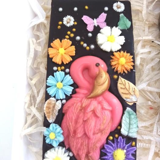 Темный шоколад Фламинго