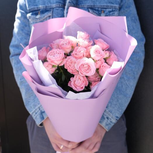 5 кустовых роз