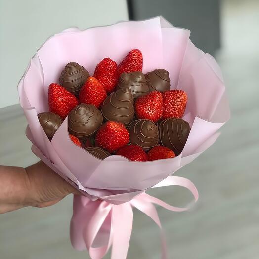 Букет из Клубники в Шоколаде 36
