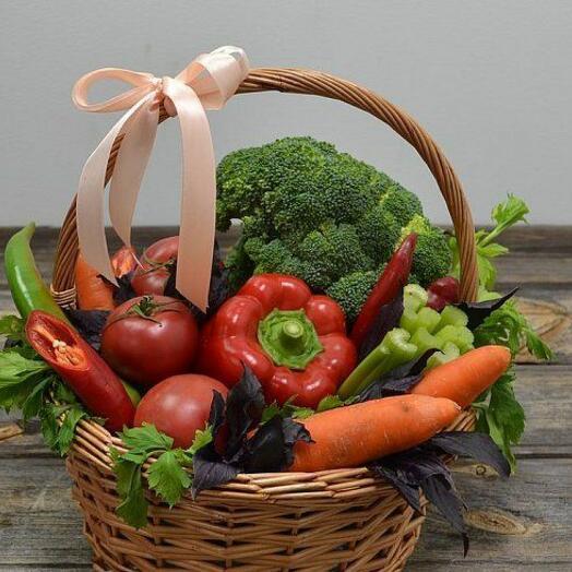 """Овощная корзина """"Полезный огород"""", 3 кг"""
