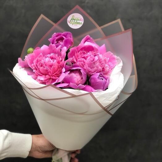 Букет Bouquet with peonies 🌸