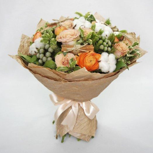 Кафе крем: букеты цветов на заказ Flowwow