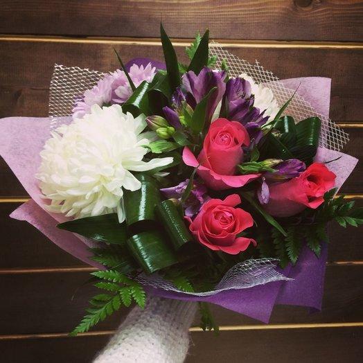 Мисс Блаш: букеты цветов на заказ Flowwow