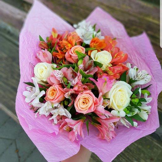 Букет Весенняя Свежесть: букеты цветов на заказ Flowwow