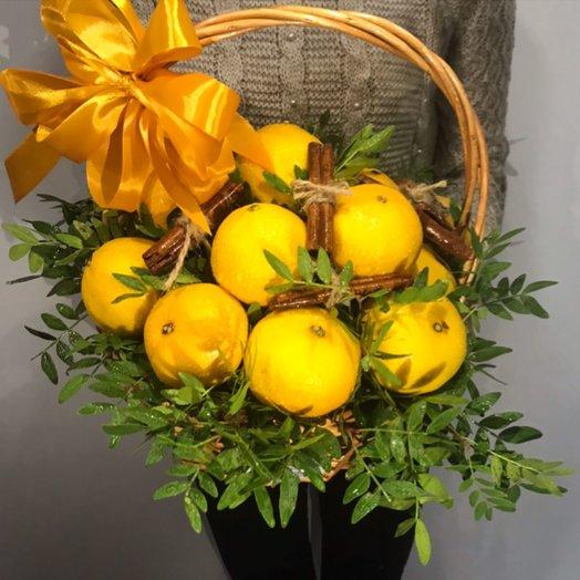 Мандариновый рай: букеты цветов на заказ Flowwow