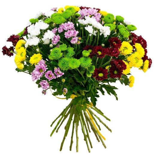 Букет из хризатнем: букеты цветов на заказ Flowwow