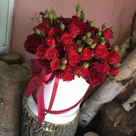 Атласное чудо: букеты цветов на заказ Flowwow