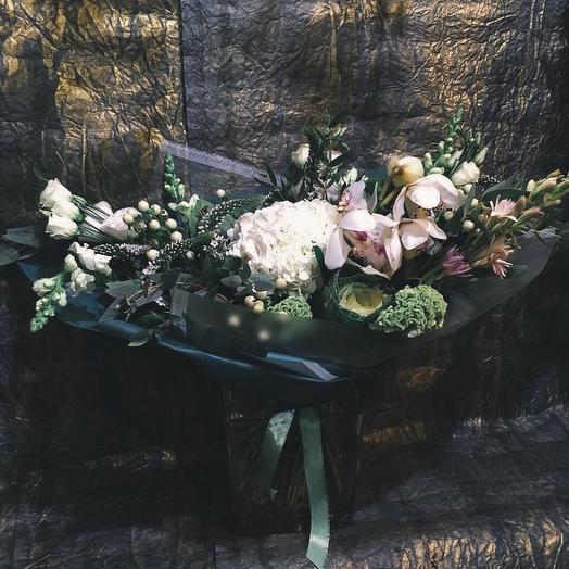 Букет «Вечерний блюз»: букеты цветов на заказ Flowwow