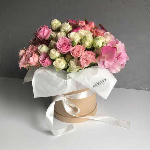 Букет Ma Fleur Миди: букеты цветов на заказ Flowwow