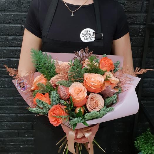 Теплая зима: букеты цветов на заказ Flowwow