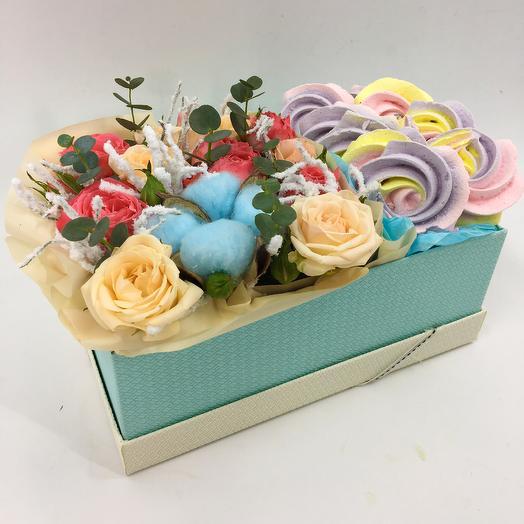 Яркая сладкая коробочка