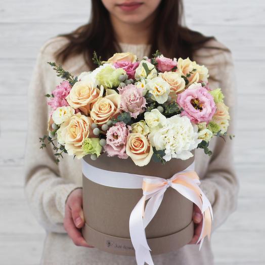 Бокс 01: букеты цветов на заказ Flowwow